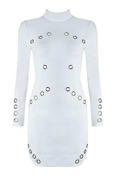 Nakita Dress - White, Dresses, [product_color]