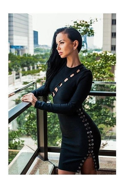 Naomi Bandage Dress, Dresses, [product_color]