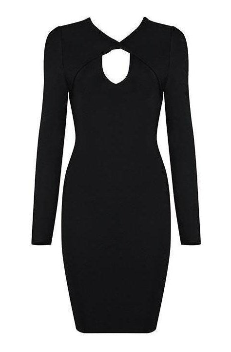 Lara Bandage Dress - Black, Dresses, [product_color]