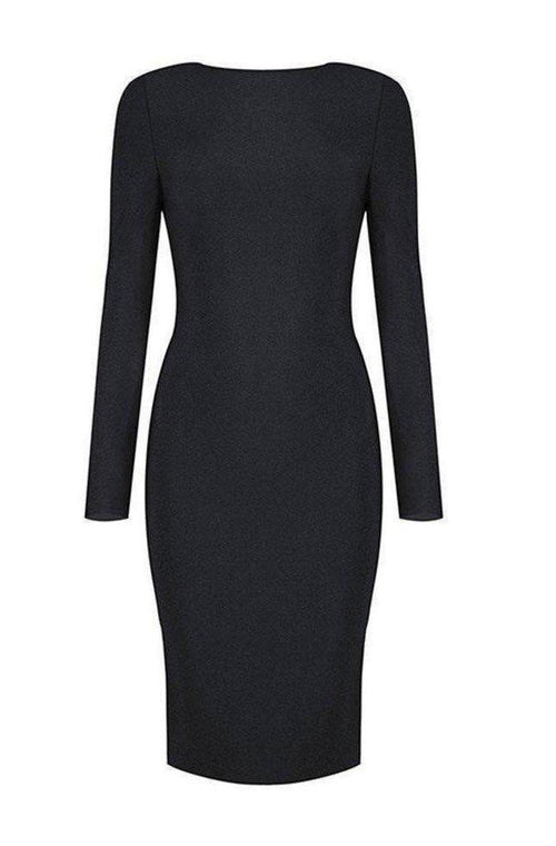 Aida Bandage Dress - Black, Dresses, [product_color]