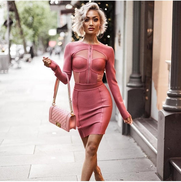 Bridgette Bandage Dress, Dresses, [product_color]