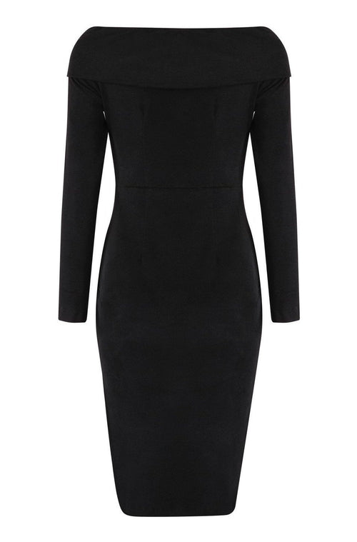 Houston Bandage Dress - Black, Dresses, [product_color]