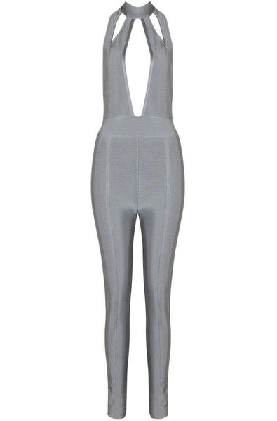Wren Jumpsuit - Gray, Jumpsuits, [product_color]