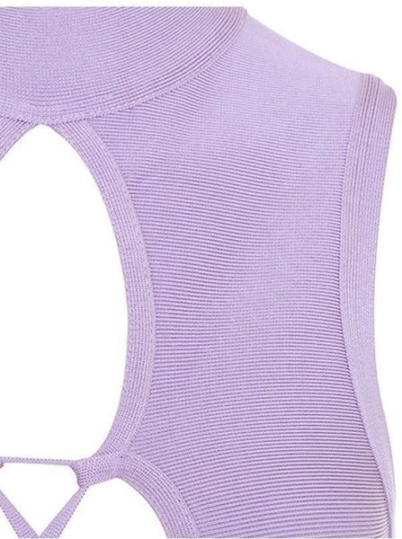 Ling Ling Bandage Dress - Purple, Dresses, [product_color]