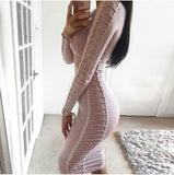Dora Bandage Dress - Nude, Dresses, [product_color]