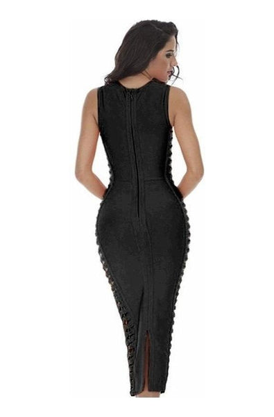 Monroe Bandage Dress - Black, Dresses, [product_color]