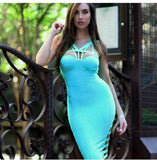 Brooklyn Bandage Dress - Blue, Dresses, [product_color]