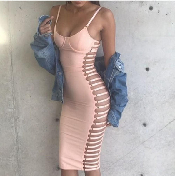 Yasmine Bandage Dress, Dresses, [product_color]
