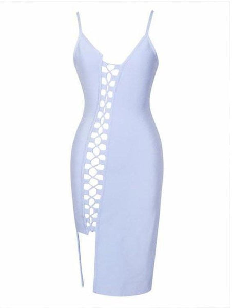 Natalia Bandage Dress - Light Blue, Dresses, [product_color]