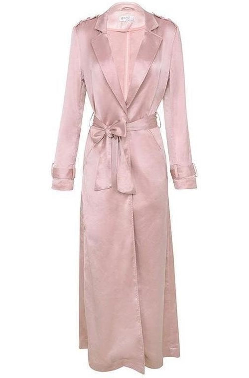 Coryn Silky Duster Coat - Champagne, Coat, [product_color]