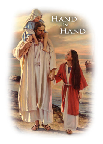 AC344 - Baptism Hand in Hand