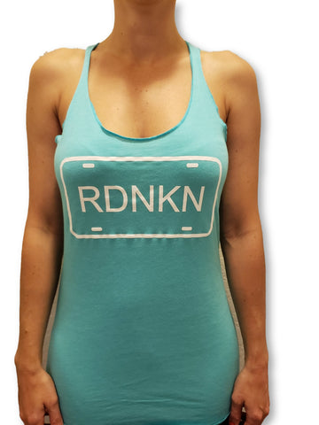 Womens RDNKN Racer Back Tank Top