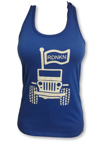 Womens get muddy tank top