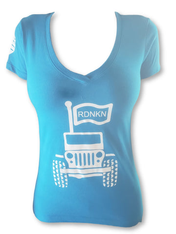 WOMENS RDNKN V NECK