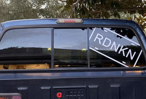 2X1 FT. RDNKN DECAL
