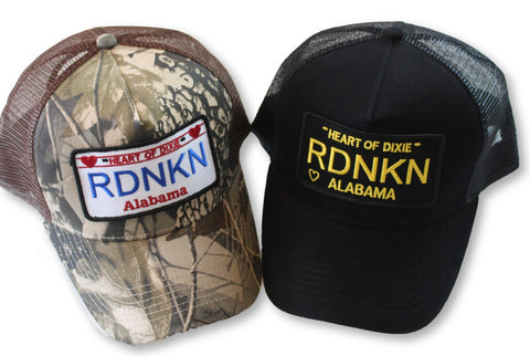 Embroidered Alabama RDNKN Mesh Trucker Hat