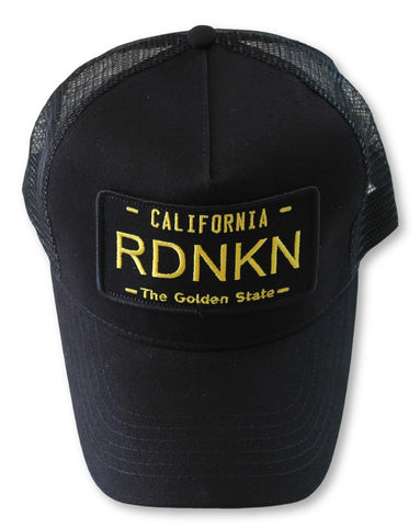 Embroidered California RDNKN Mesh Trucker Hat
