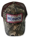 Embroidered North Carolina RDNKN Mesh Trucker Hat