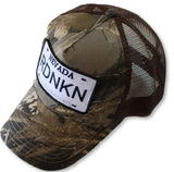Embroidered NEVADA RDNKN Mesh Trucker Hat
