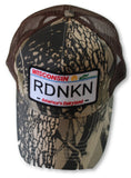 Embroidered Wisconsin RDNKN Mesh trucker hat
