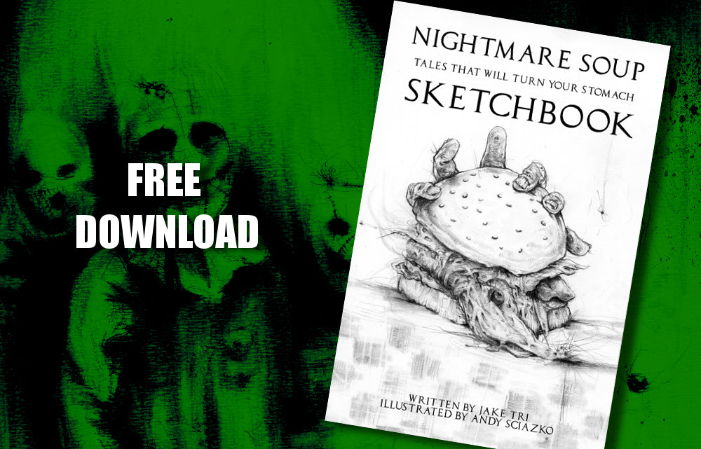 Download The Nightmare Soup Sketchbook For Free