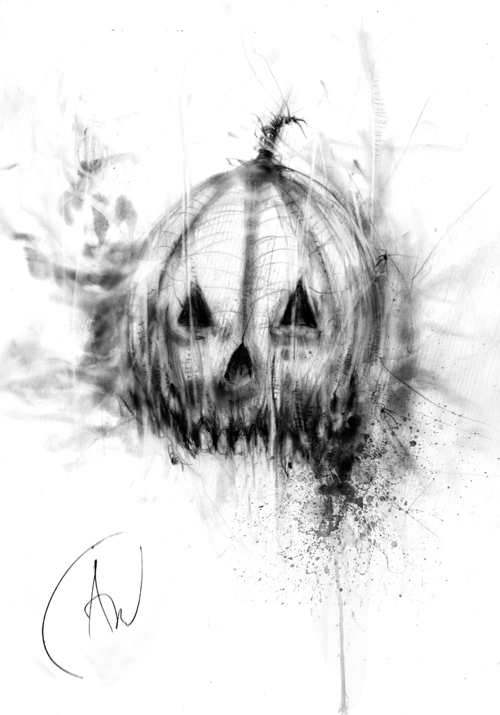 The Pumpkin King Limited Edition, Signed Print