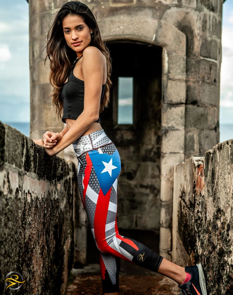 Achromatic PR Flag Legging