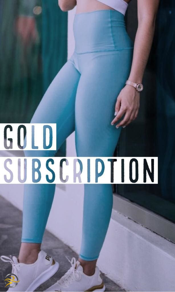 GOLD LEISURE BOX - TWO LEGGINGS SUBSCRIPTION