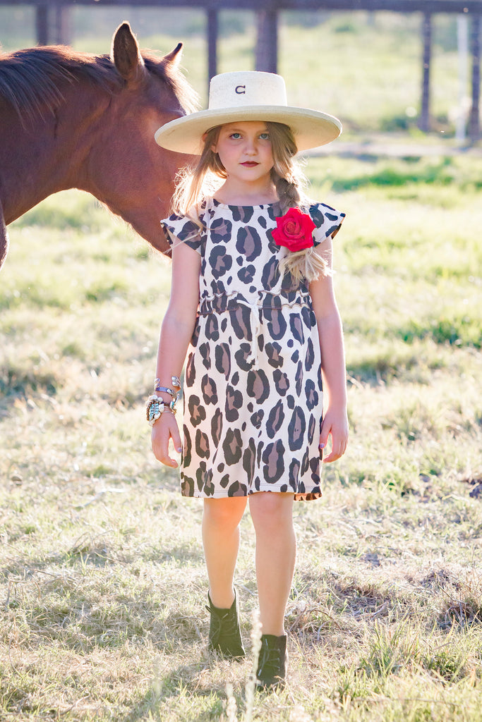 Kid's Leopard Dress