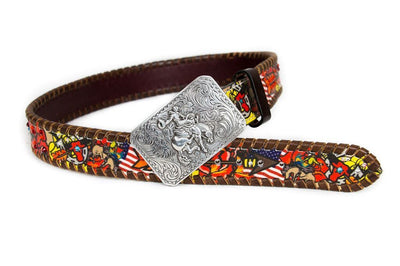 Bronc Bustin Rodeo Kids Rodeo Belt