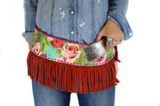 Blue Betty w/ fringe Fashion Belt - Rodeo Quincy