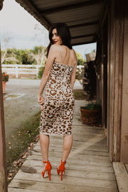Double L Leopard Dress
