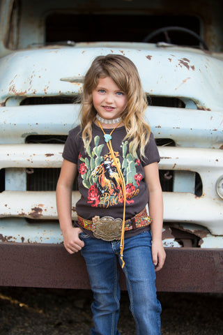 LIPSTICK COWGIRL KIDS LONG SLEEVE