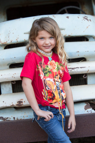 Round Up Rodeo Long Sleeve Hoodie Kids
