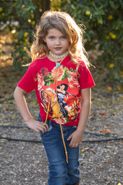 Kids Mustang Sally Tee Red