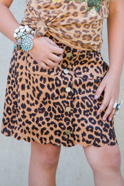 Kid's Leopard Skirt