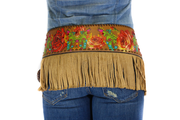 Annie Rose 2 Fashion Belt with fringe