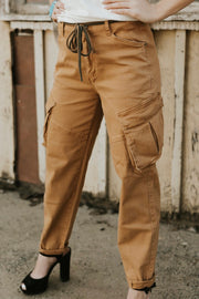 Your Hubbys Cargo Pants Khaki