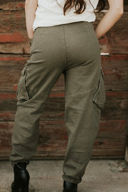 Your Hubbys Cargo Pants Olive