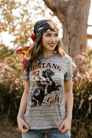 Mustang Sally Grey Crew Tee