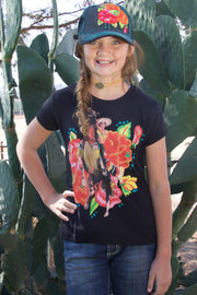 Kids Señorita Suzy T-Shirt Black