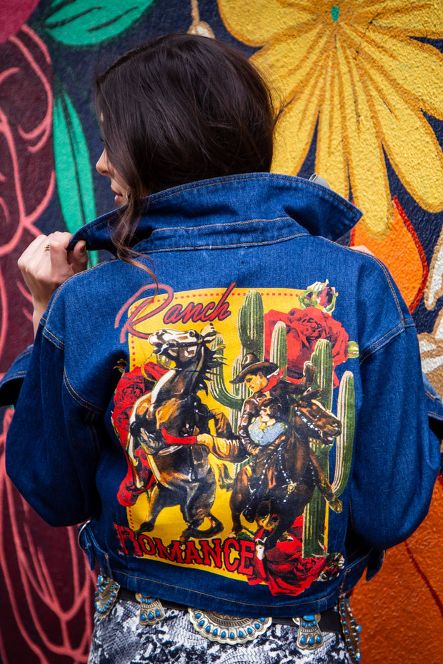Ranch Romance Denim Jacket