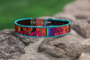 Serape Rose Rodeo Belt