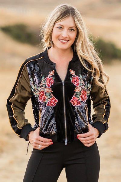 Showstopper Shyan Bomber Jacket