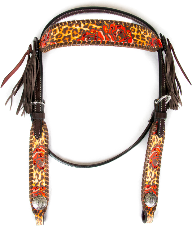 Stampede Shane Browband Headstall - Rodeo Quincy