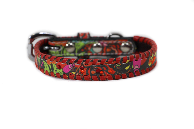 Annie Rose 3 Dog Collar - Rodeo Quincy