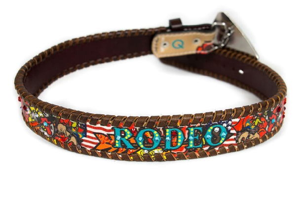 Bronc Bustin Rodeo Kids Rodeo Belt - Rodeo Quincy