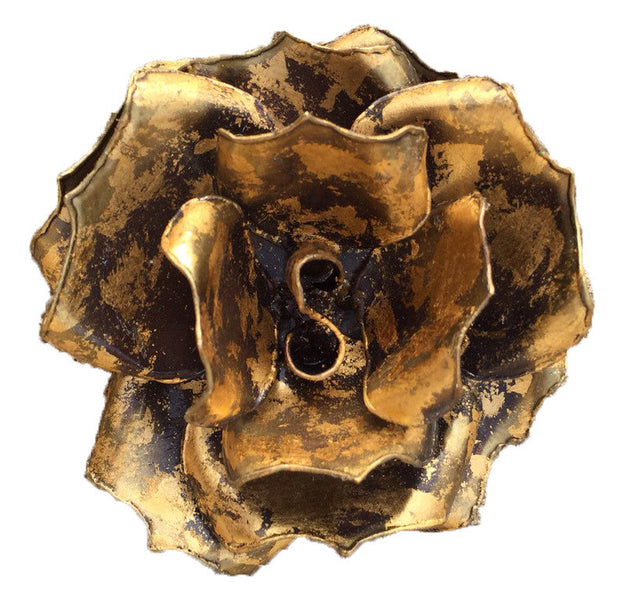 Gold Rose Buckle