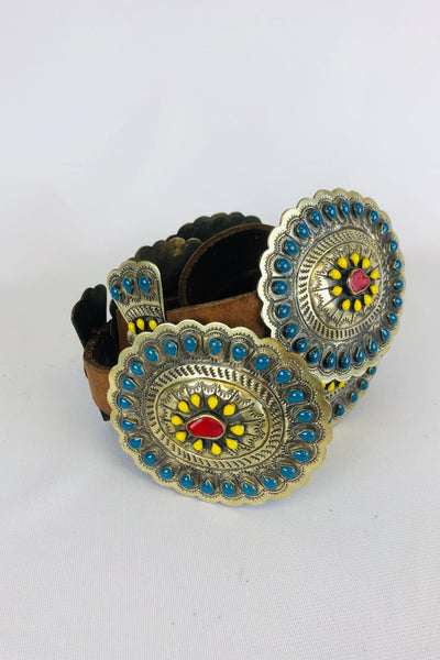 Blazing Concho Belt
