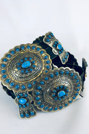 The Stunner Turquoise Concho Belt